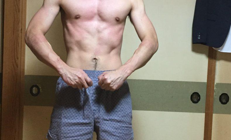 筋肉痛の身体