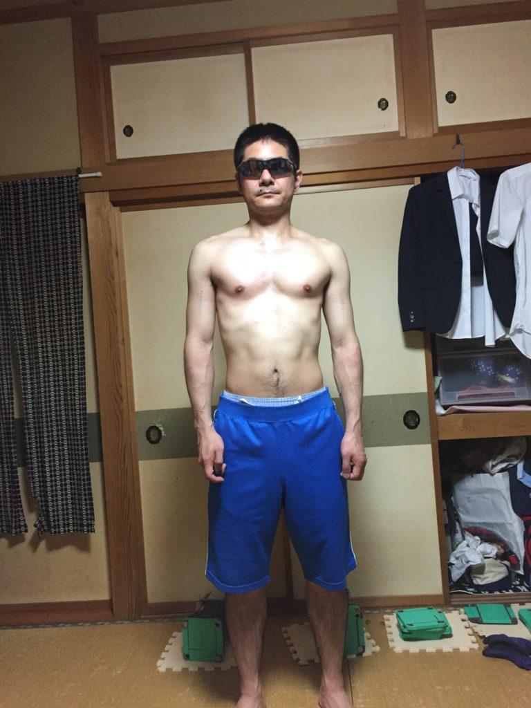 ダンベルベンチプレスで20kgが上がるようになった体