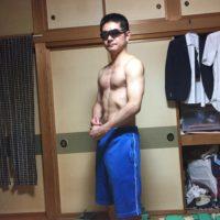 ダンベルベンチプレス20kgで作った身体