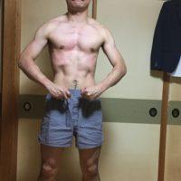 中年太りを解消した40代男性