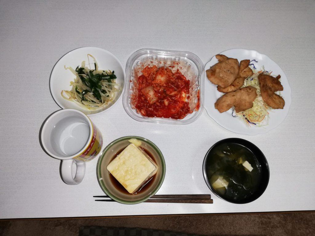 豆腐ダイエットの食事